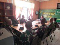 Dandim 0602/Serang Berikan Arahan, Anggotanya Yang Lulus Diktukba Reg Sus